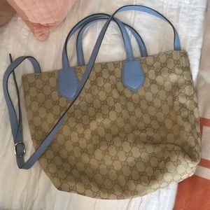 Authentic Gucci reversible tote